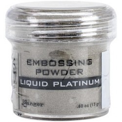 Liquid Platinum Embossing Powder Ranger