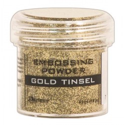 Gold Tinsel Embossing Powder Ranger