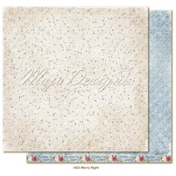 "Merry Night 12""x12"" Christmas Season Collection Maja Design"