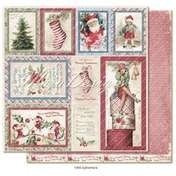 "Ephemera 12""x12"" Christmas Season Collection Maja Design"