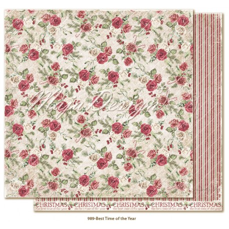 """Best Time Of The Year 12""""x12"""" Christmas Season Collection Maja Design"""