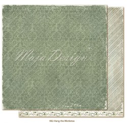 "Hang Mistletoe 12""x12"" Christmas Season Collection Maja Design"