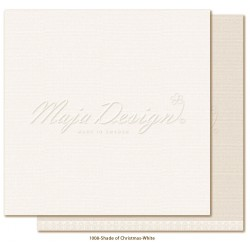 "White Monochromes Shades Of Christmas 12"" x 12"" Maja Design"