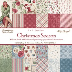 "Christmas Season 6""x6"" Paper Pack Maja Design"