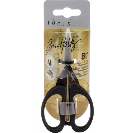 "Non-Stick Micro Serrated Mini Snips 5"" Tim Holtz"