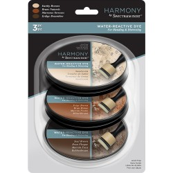 Earthy Browns Water Reactive Dye Harmony by Spectrum Noir