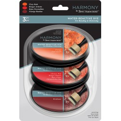 Fiery Reds Water Reactive Dye Harmony by Spectrum Noir