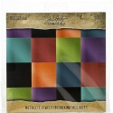 "Jewels Paper Stash Kraft Metallic Paper Pad 8""x8"" Idea-Ology"