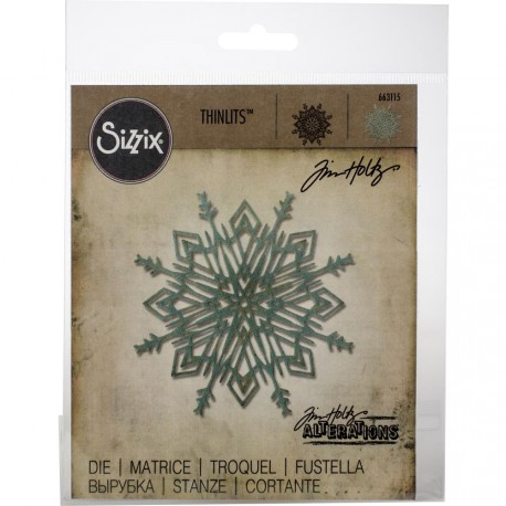 Flurry 4 Thinlits Die by Tim Holtz Sizzix