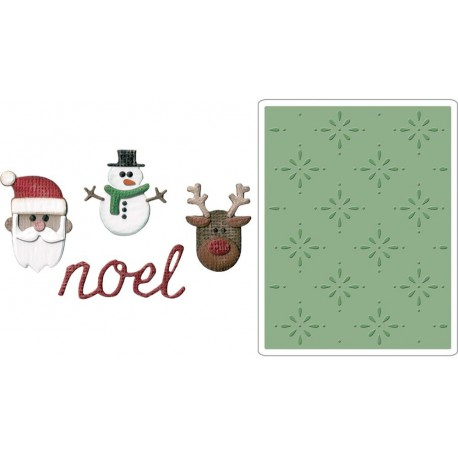 Christmas Side-Order Set By Tim Holtz Sidekick Sizzix