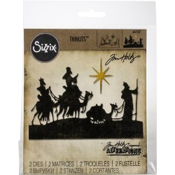 Wise Men Thinlits Dies By Tim Holtz Sizzix