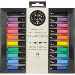 Rainbow Dream Pens 10 Pkg Kelly Creates