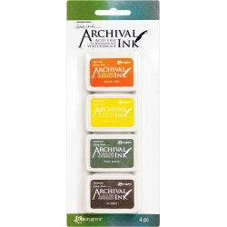 Kit 5 Archival Mini Ink Pad Kits by Wendy Vecchi Ranger