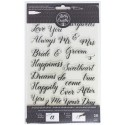 Wedding Acrylic Traceable Stamps Stamp & Trace Kelly Creates