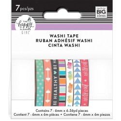 Healty Hero Mini Washi Tape Happy Planner Create 365 Me&My Big Ideas
