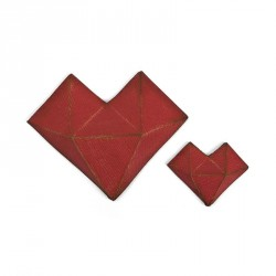 Faceted Heart Thinlits Dies By Tim Holtz Sizzix