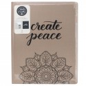 "Storage Folder & Blanc Paper Pad 8,5""x11"" for Brush Lettering Kelly Creates"