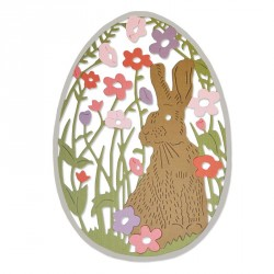 Meadow Rabbit Thinlits Die Sizzix