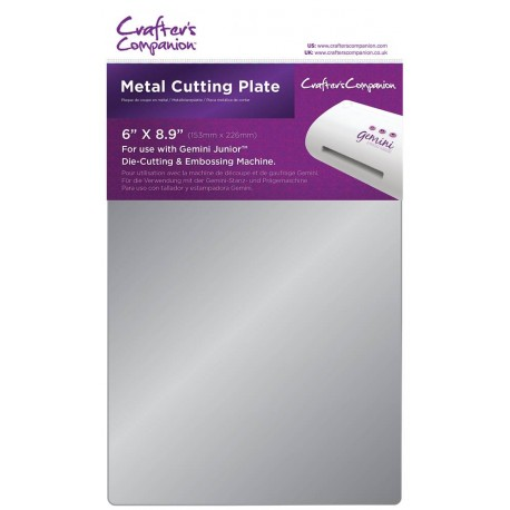 Metal Cutting Plate Gemini Junior by Crafer's Companion