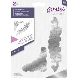 Biarritz Border & Corner Gemini Foil Stamp Die Elements by Cratfter's Companion