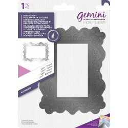 Lyon Frame Gemini Foil Stamp 'N' Cut Die Elements by Cratfter's Companion