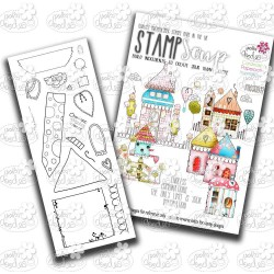 Little Kingdom Clear Polymer Stamp Soup Polka Doodles