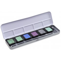 Camaleonte Turchese Mica Watercolor Pearlescent Colours Finetec