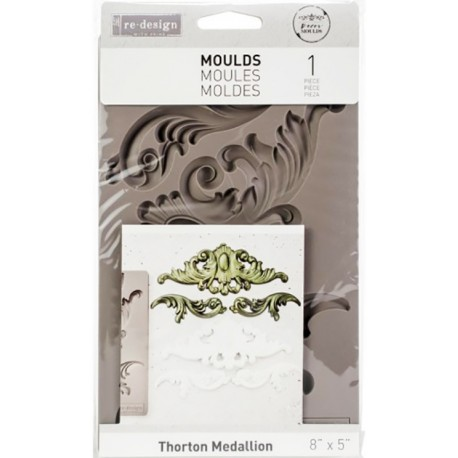 Thorton Medallion Re-Design Decor Mould Prima Marketing