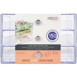 Washi Tape Storage Cube Deflecto