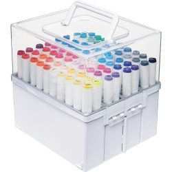 Expandable Marker Accordion Organizer Deflecto