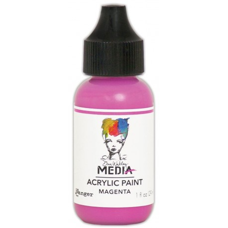 Magenta Media Heavy Body Acrylic Paint Dina Wakley Ranger