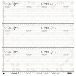 "Recetas Double-sided Cardstock 12""x12"" Gourmet II Collection Sra Granger"