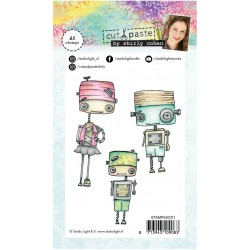"Shirly Cohen 1 Clear Stamp Set 4""x6"" Studio Light"