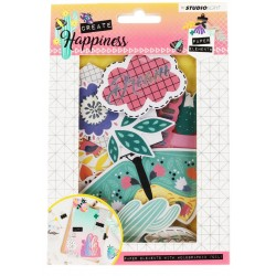 Happiness 2 Die Cuts Paper Elements Studio Light