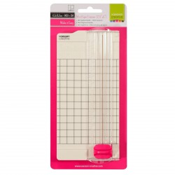 "Mini Paper Trimmer 2,5""x6"" Vaessen Creative"