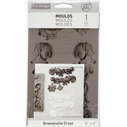 Groenville Crest Re-Design Decor Mould Prima Marketing