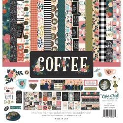 "Coffee Collection Kit 12""x12"" Echo Park"