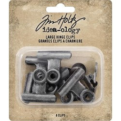 Hinge Clips Large Idea-ology by Tim Holtz