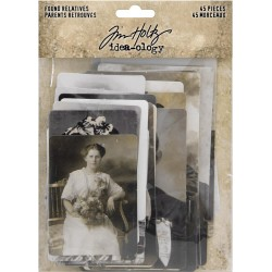 Found Relatives Vintage Portraits Idea-ology by Tim Holtz