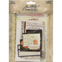 Layers Remnants Idea-ology by Tim Holtz