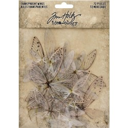 Transparent Acetate Wings Idea-ology by Tim Holtz