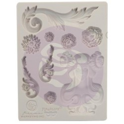"Fairy Garden Decor Moulds 3,5""x4,5"" Finnabair Prima Marketing"