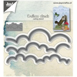 Nuvole Cucite Cut & Embossing Stencil Joy Crafts