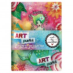 Art Journal by Marlene A5 Ringband Journal Studio Light