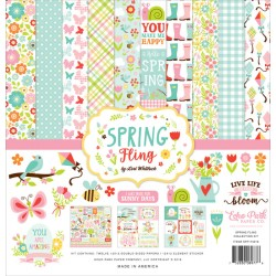 "Spring Fling Collection Kit 12""x12"" Echo Park"