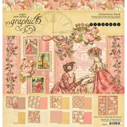 """Princess Collection Pack 12""""x12"""" Graphic45"""