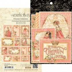 "Princess Journaling & Ephemera Cards 12""x12"" Graphic45"