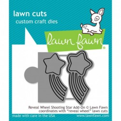 Reveal Wheel Shooting Star Add-On Custom Craft Dies Lawn Fawn