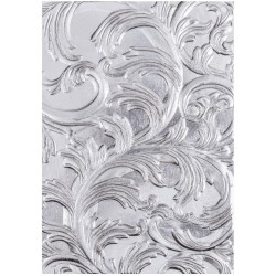 Elegant 3-D Texture Fades A6 Embossing Folder by Tim Holtz