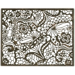 Intricate Lace Thinlits Dies By Tim Holtz Sizzix